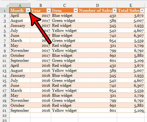 how to make a table in excel 2013