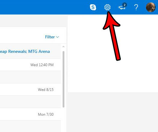 how to display all emails in inbox in outlook.com