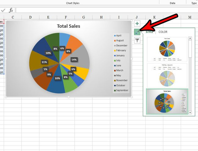 how to make a pie chart in excel 2013
