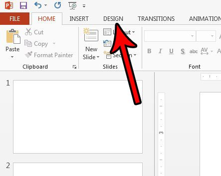 how to make powerpoint slide vertical