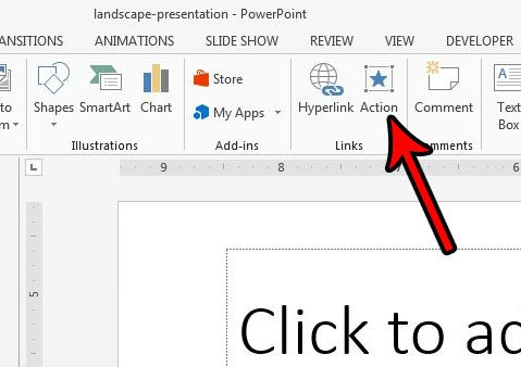 make some powerpoint slides vertical