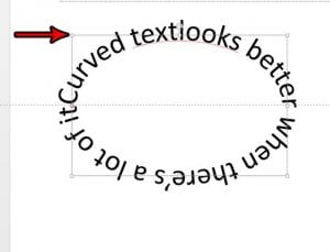 How to Make Curved Text in Powerpoint 2013