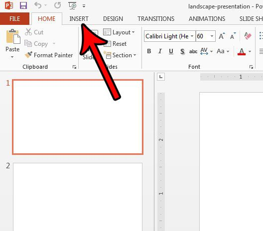 how to add footer powerpoint 2013