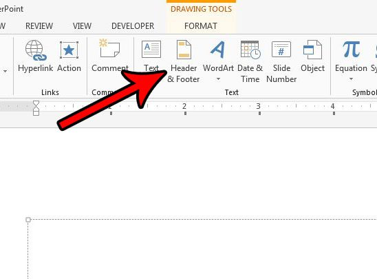 include a footer in powerpoint slides