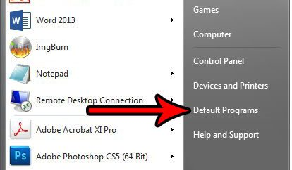 change autoplay settings windows 7