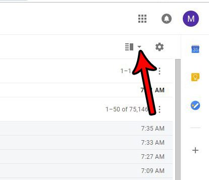 how to add a reading pane in gmail