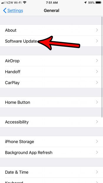 how to update iphone automatically
