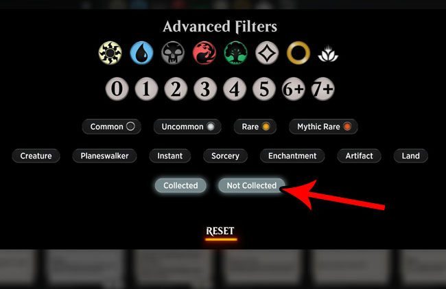 How to Search for Cards You Don't Own in MTG Arena - Solve Your Tech