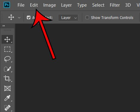 how to change theme in photoshop cc