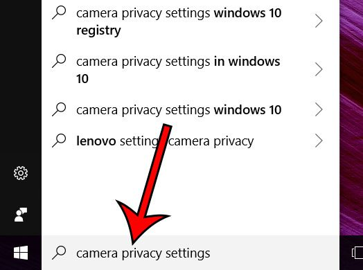 choose which apps can use webcam windows 10