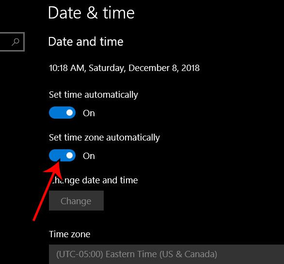 How to Set the Time Zone Automatically in Windows 10 - Solve Your Tech