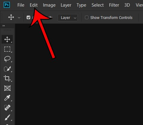 how to remove photoshop placeholder text