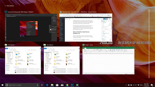 what is task view in windows 10