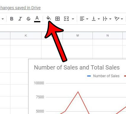 apply color to a column in google sheets