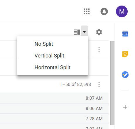 how to add a preview panel in gmail