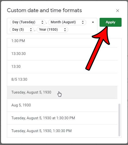 How to Use a Different Date Format in Google Sheets - Solve