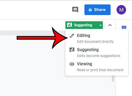 why is google docs marking edits as comments or suggestions