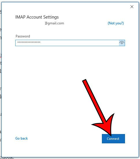 How to Add a Gmail Account in Outlook for Office 365 - Solve