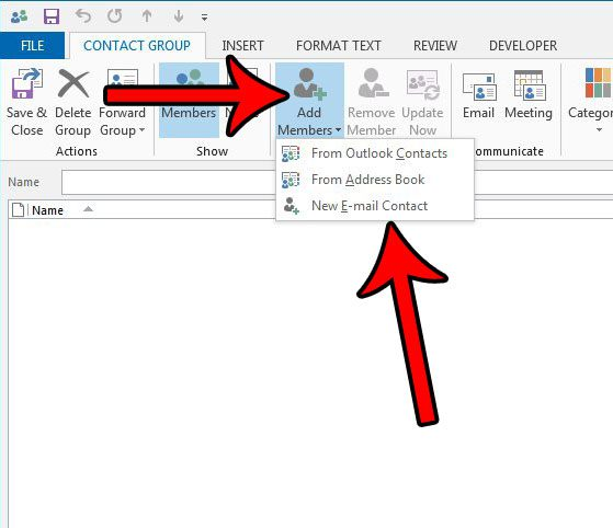 How to Create a Distribution List in Outlook 2013 - Solve Your Tech