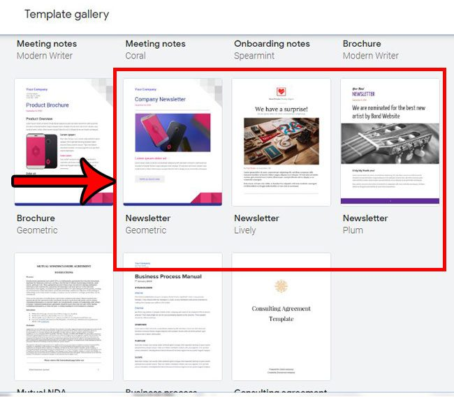 How to Create a Newsletter Using a Google Docs Newsletter