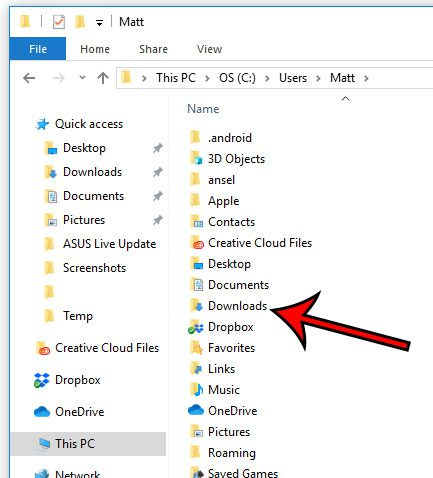 How to Open the Downloads Folder in Windows 10 - Solve Your Tech