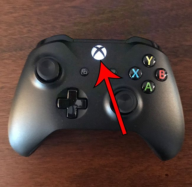 press the Xbox button