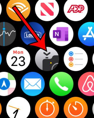 how to take an iPhone picture from the Apple Watch