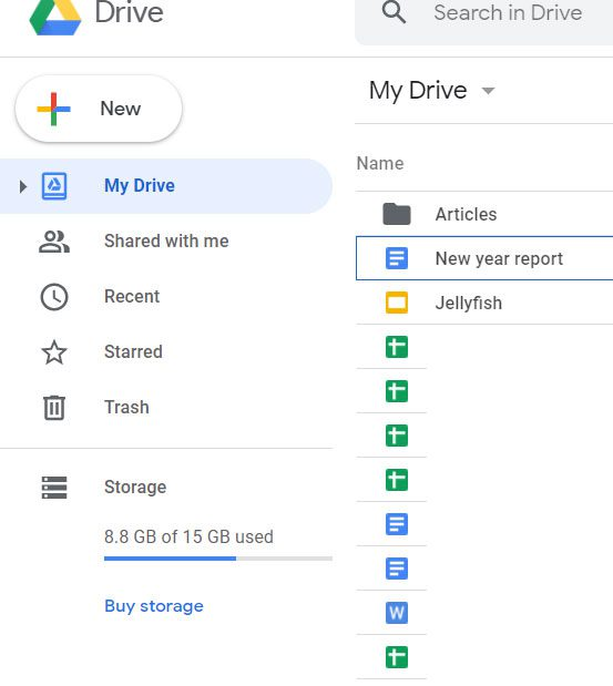 sign into Google Drive