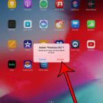 how to delete apps on an iPad