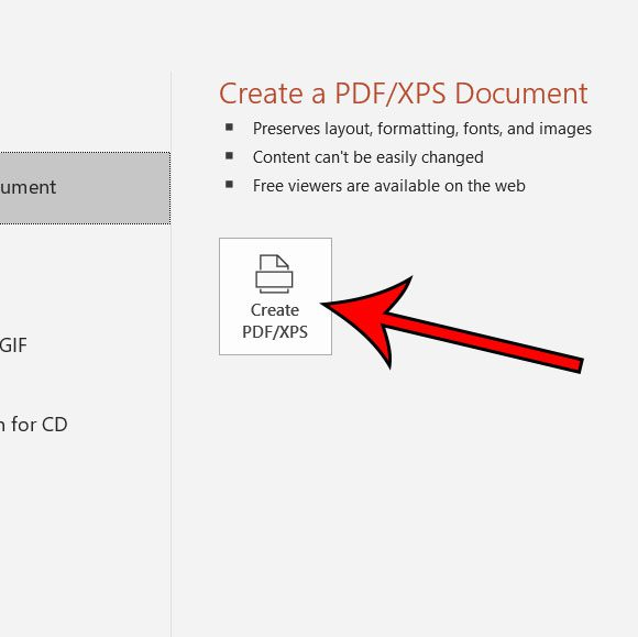 how to convert Microsoft Powerpoint to PDF