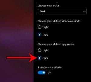 how to enable Windows Explorer dark mode in Windows 10