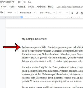 how to remove a page break in Google Docs