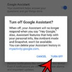 how to disable Google Assistant on a Google PIxel 4A