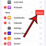 how to delete CarPlay apps from an iPhone